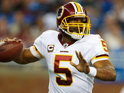 Donovan McNabb and the Redskins have agreed to a five-year extension, according to a report. (AP Photo/Rick Osentoski)