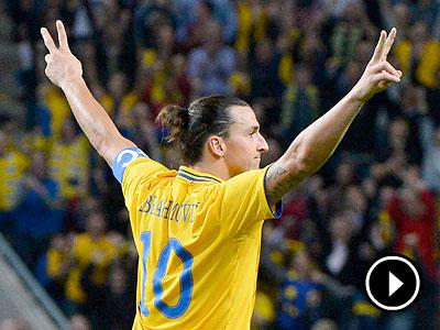Zlatan Ibrahimovic. (Claudio Bresciani/Scanpix/AP)