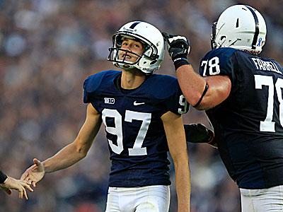 Penn State kicker Sam Ficken. (Gene J. Puskar/AP)