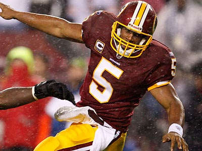 Donovan McNabb could be pushed out of town for much less than the Redskins used to acquire him. (Ron Cortes/Staff file photo)