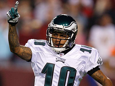 DeSean Jackson and the Eagles take on the Giants Sunday night. (Ron Cortes/Staff Photographer)