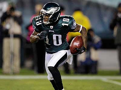 DeSean Jackson returns to the lineup against the Giants. (AP Photo/Matt Slocum)