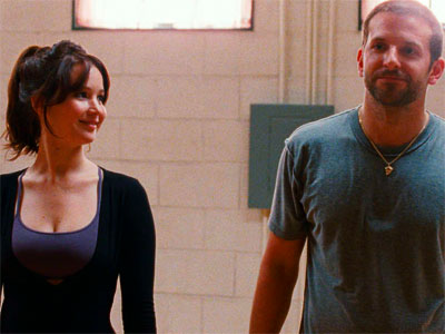 "Bradley Cooper and Jennifer Lawrence star in ""Silver Linings Playbook."" The film received 8 Oscar nods, including Cooper who was nominated in the best actor category Thursday morning."