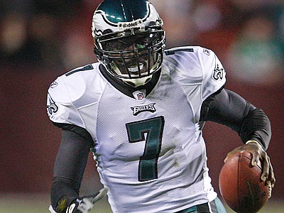 Michael Vick is getting some MVP buzz around the country. (Yong Kim/Staff Photographer)