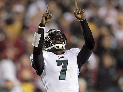 Michael Vick said he does wonder how his career would have unfolded if he was an Eagle from the beginning. (Yong Kim/Staff Photographer)<br /><br />
