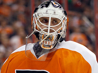 Ilya Bryzgalov took it upon himself to announce the Flyers´ starting goalie for Monday´s Winter Classic. (Yong Kim/Staff file photo)