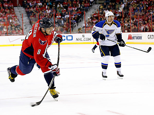 Capitals right wing Alex Ovechkin. (Alex Brandon/AP)