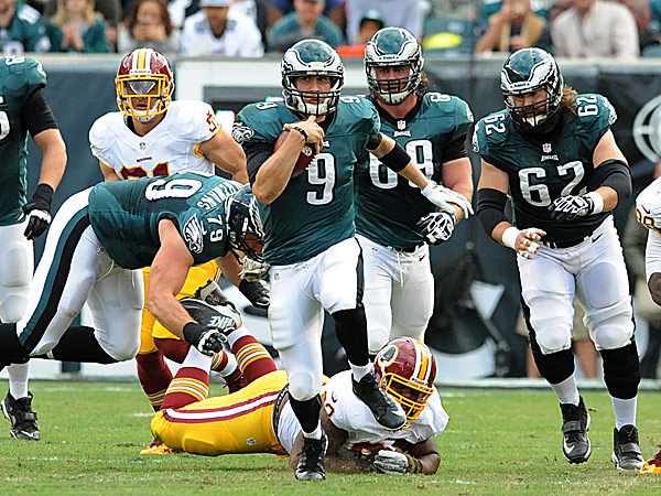 Eagles' Foles showing he can run the show