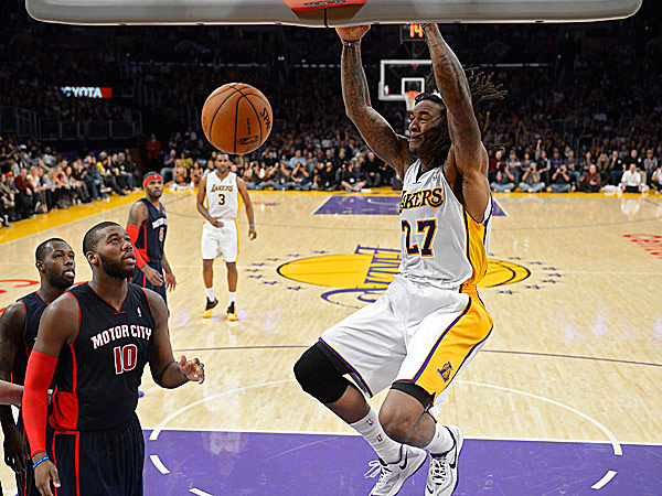 Lakers center Jordan Hill. (Mark J. Terrill/AP)