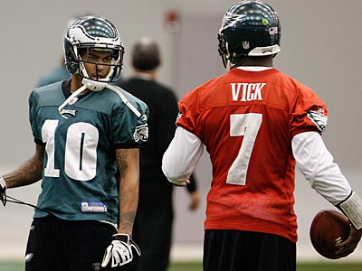 """He´s busy doing things he´s doing. I´m busy doing things I´m doing,"" said Jackson on Michael Vick. (David Maialetti/Staff file photo)"