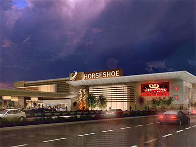 The last rendering of the proposed Foxwoods Casino on Christopher Columbus Boulevard at Reed Street in South Philadelphia..