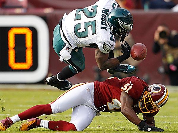 Redskins 31, Eagles 6
