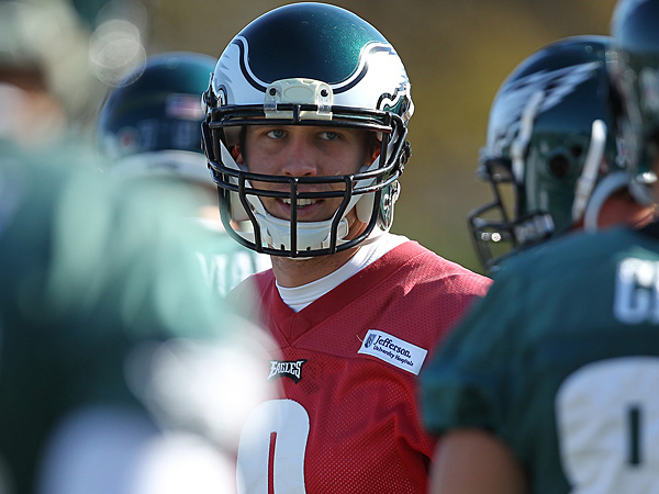 Eagles quarterback Nick Foles. (David Maialetti/Staff Photographer)