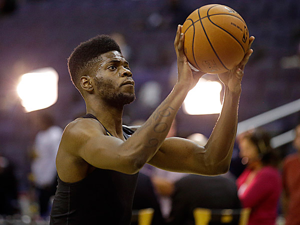76ers center Nerlens Noel. (Alex Brandon/AP)