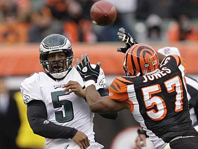 """Should I have known that rule? Yeah,"" Donovan McNabb said. ""There are lot of rules that those of us don't know."" (Ron Cortes / File photo)"