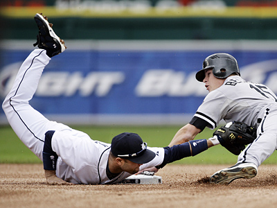 Placido Polanco won an AL Gold Glove playing second base for the Detroit Tigers last season. He could be a good fit for the Phillies´ opening at third base. (AP Photo/Duane Burleson, File)
