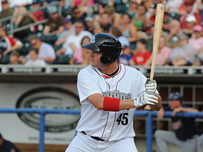 Matt Rizzotti is one of five players recently added to the 40-man roster. (Staff Photo)