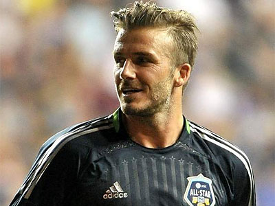 David Beckham during the Major League Soccer All-Star Game at PPL Park. (File photo)