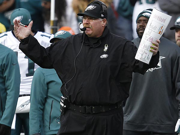 Eagles head coach Andy Reid. (David Maialetti/Staff Photographer)
