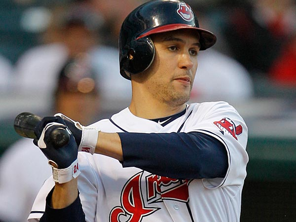 Grady Sizemore in an MLB uniform, circa 2011. (AP Photo/Amy Sancetta)