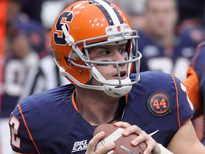 Syracuse quarterback Ryan Nassib. (Kevin Rivoli/AP file photo)