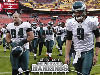 The Eagles are on a six-game losing streak with a 3-7 record after Sunday´s loss to the Redskins. (David Maialetti/Staff Photographer)