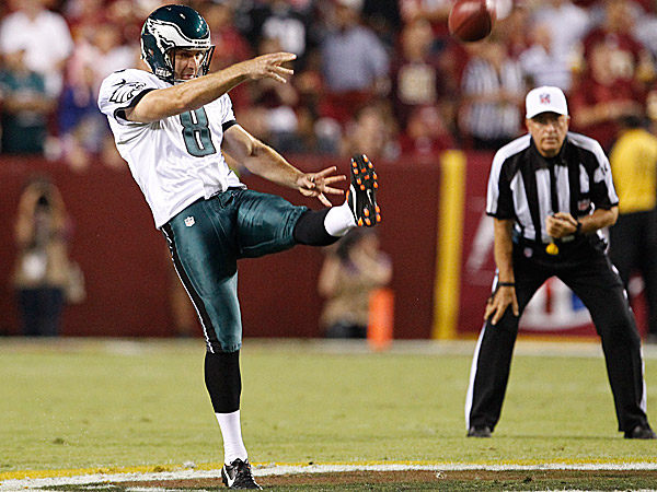 Eagles punter Donnie Jones. (Ron Cortes/Staff Photographer)