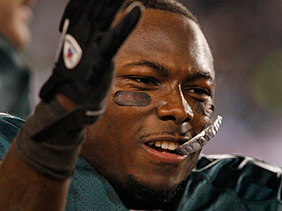 LeSean McCoy has yet to return the advance fee for failing to show up for a scheduled appearance. (Ron Cortes/Staff File Photo)