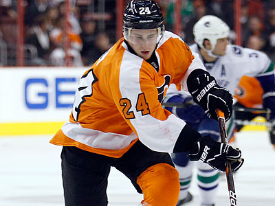 Matt Read notched four points the last time the Flyers played the Senators. (Yong Kim/Staff file photo)