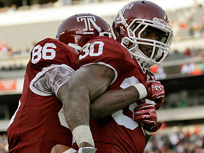 Temple will look to win an invitation to a bowl game with a win over Kent State on Friday. (Alex Brandon/AP)