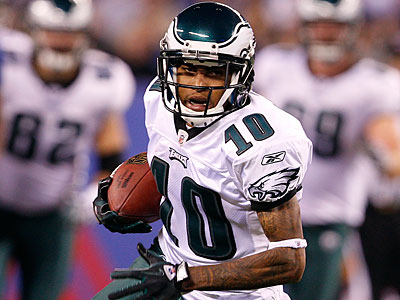 DeSean Jackson had six catches for 88 yards against the Giants. (David Maialetti/Staff Photographer)
