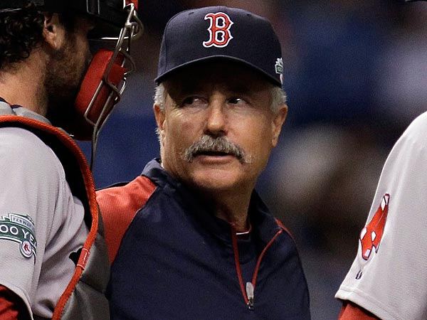 Boston Red Sox pitching coach Bob McClure in 2011. (AP Photo/Chris O´Meara)