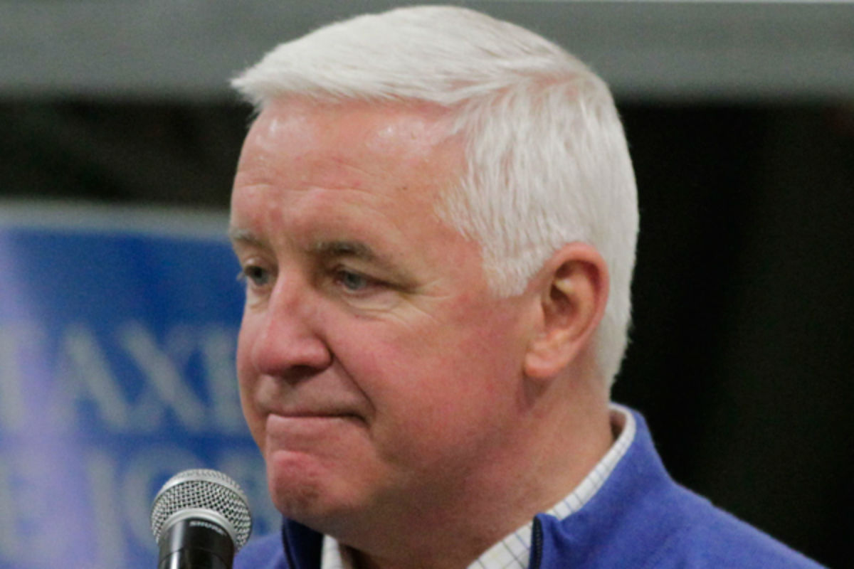 Former Pennsylvania Gov. Tom Corbett.