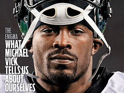 Michael Vick will grace the cover of the latest Sports Illustrated issue. (Photo Credit: Sports Illustrated)