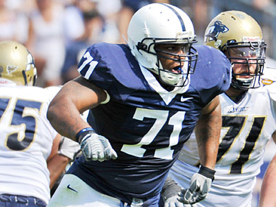 Penn State defensive tackle Devon Still will try to stifle a potent Wisconsin pass offense. (Mark Selders)