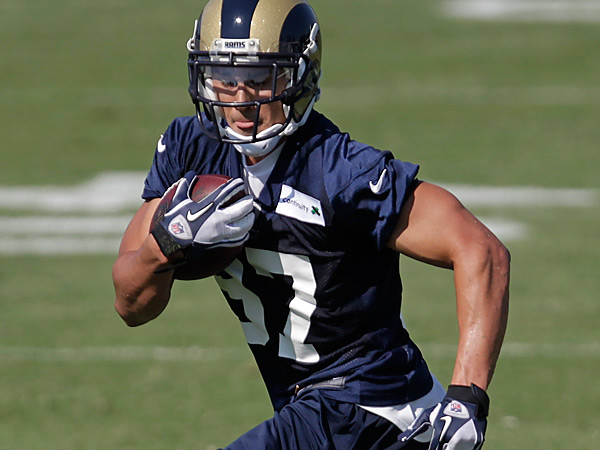The Eagles have signed wide receiver Greg Salas. (AP Photo/Tom Gannam)