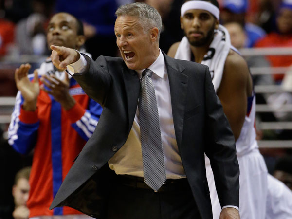 Brett Brown. (Matt Slocum/AP)