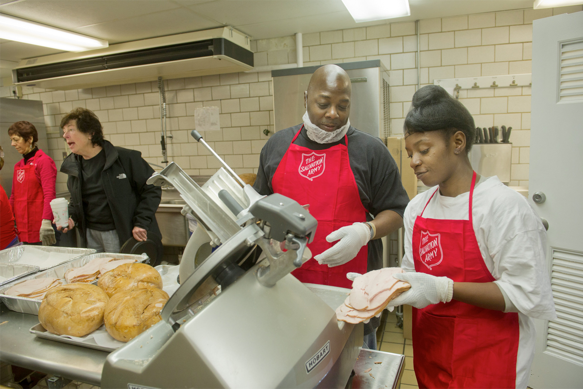 Salvation Army S Alternative To Thanksgiving Soup Kitchen Philly