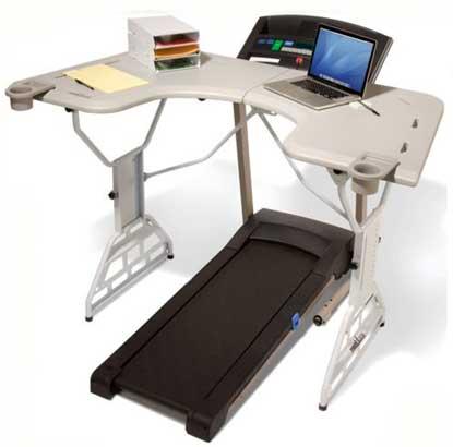 TrekDesk Treadmill Desk,.$479.<br />www.trekdesk.com