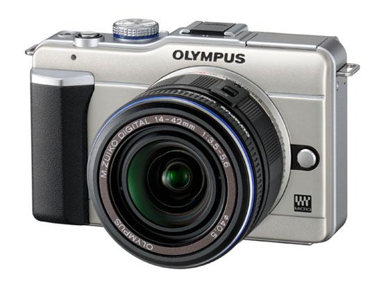 Olympus E-PL1 digital camera, $599.99. www.olympusamerica.com
