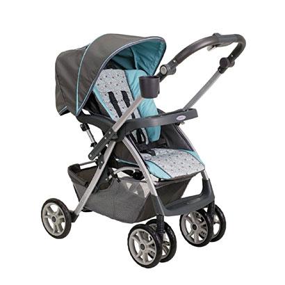 Graco´s Alano FlipIt Travel System Stroller. $219.99, www.babiesRus.com