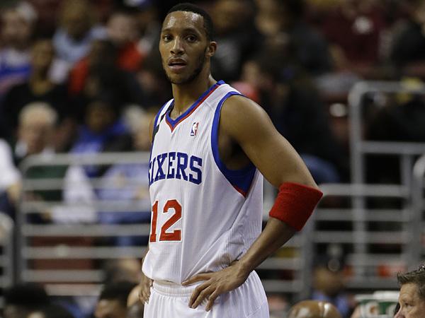 Philadelphia 76ers swingman Evan Turner. (Matt Slocum/AP)