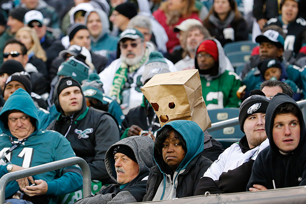 Bad Philly fan behavior explained - to a point