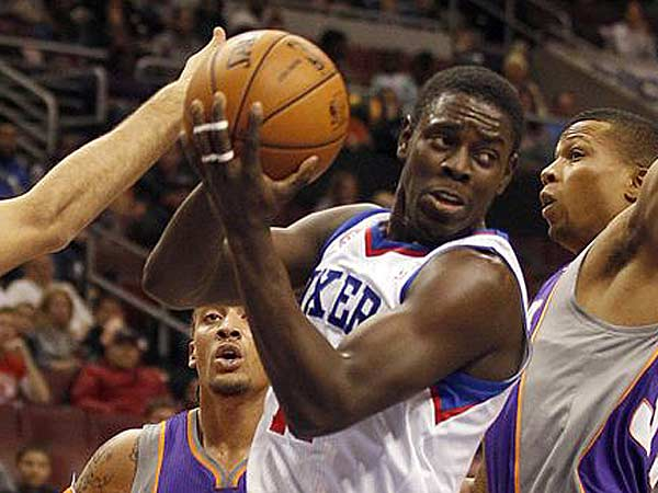 Jrue Holiday scored a career-high 33 points against the Suns. (Yong Kim/Staff Photographer)