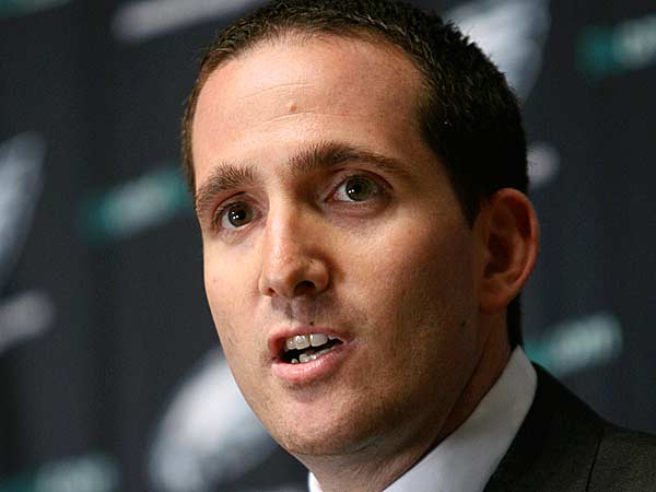 Eagles general manager Howie Roseman could be part of the Eagles' problem and not the solution. (Mark Stehle/AP file photo)