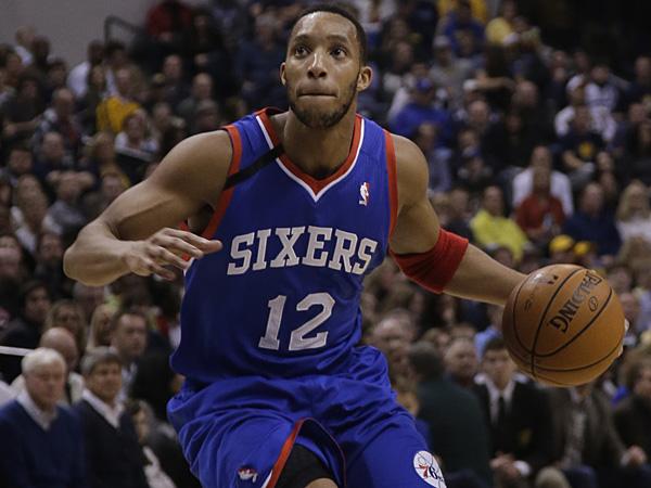Philadelphia 76ers forward Evan Turner. (AJ Mast/AP)