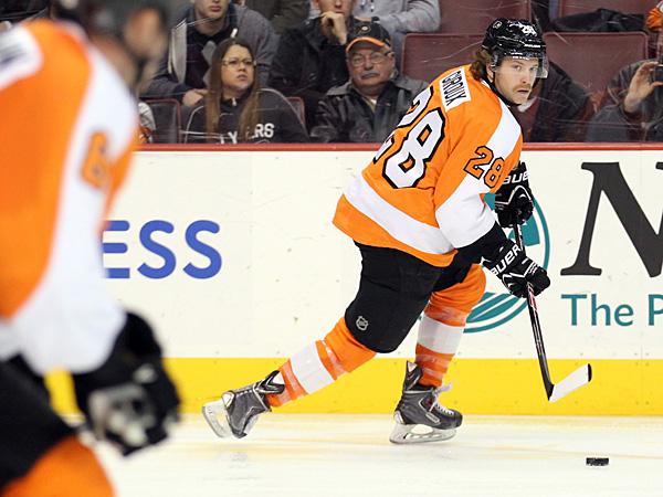Flyers captain Claude Giroux. (Yong Kim/Staff Photographer)