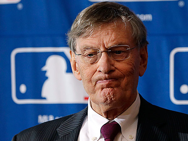 Major League Baseball Commissioner Bud Selig. (Mike Groll/AP)