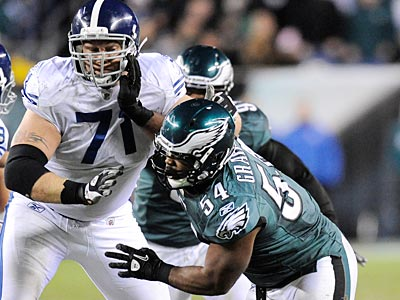 DE Brandon Graham is one rookie the Eagles are counting on as they focus on winning the NFC East. (Clem Murray/Staff File Photo)