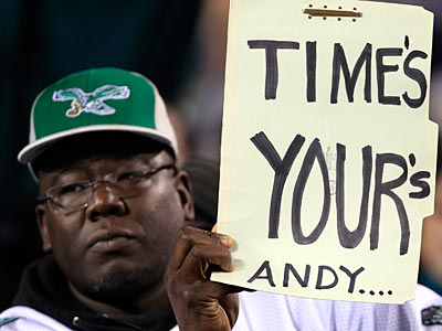 Fans are less than pleased with Andy Reid and the Eagles. (David Maialetti/Staff Photographer)